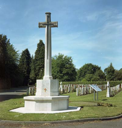 Commonwealth War Graves, Cathays Cemetery, Cardiff, Wales
