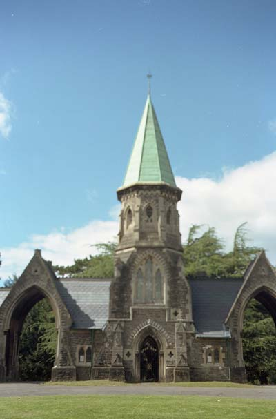 Mortuary Chapels at Cathays Cemetery, Cardiff
