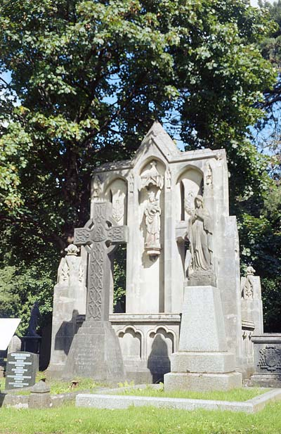 Tomb of Bishop Hedley, Cathays, Cardiff